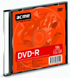 Acme DVD-R 4.7GB 16X 1db-os slim tokban