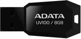 Adata UV100 8GB Flash Drive USB2.0 fekete