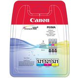 Canon CLI-521 CMY multipack
