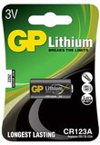 GP Batteries CR123A 3V Lithium elem
