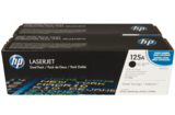 HP 125A, CB540AD dupla fekete toner