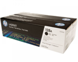 HP 128A, CE320AD dupla fekete toner