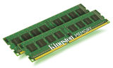 Kingston ValueRAM 8GB DDR3-1333 x8 (2x4GB Kit) memória