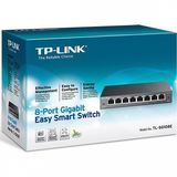 TP-Link TL-SG108E 8port Gigabit asztali Switch