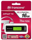 Transcend Jetflash 760 16GB USB 3.0 Pendrive