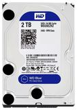 "WD Blue 3.5"" 2TB SATA3 5400 RPM HDD"